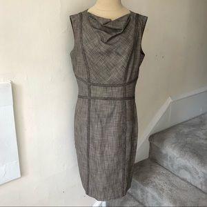 Classiques Entier Cowl Neck Sheath Dress